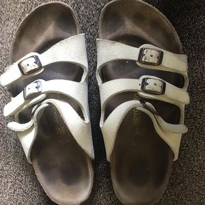 Florida style leather Birkenstock Sandals